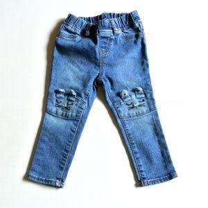 Gap Denim Jeans Jegging 2 Girls Bunny ears